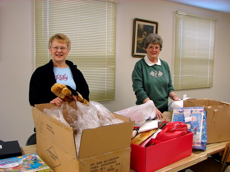 Ruby & Gladys Volunteers for St. Vincent De Paul