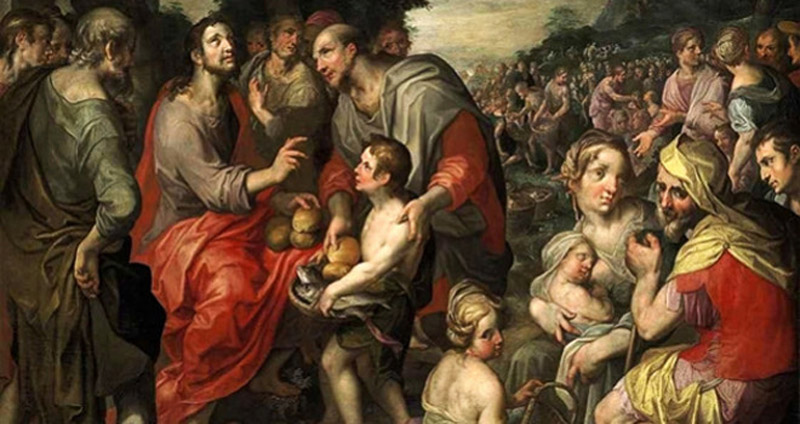Miracles-of-the-Loaves-and-Fishes-by-Jacob-de-Backer-16C