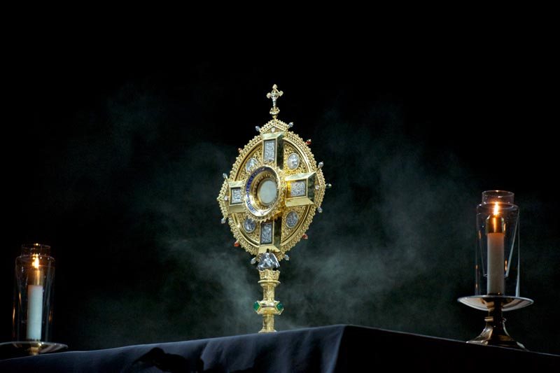 Monstrance and Incense
