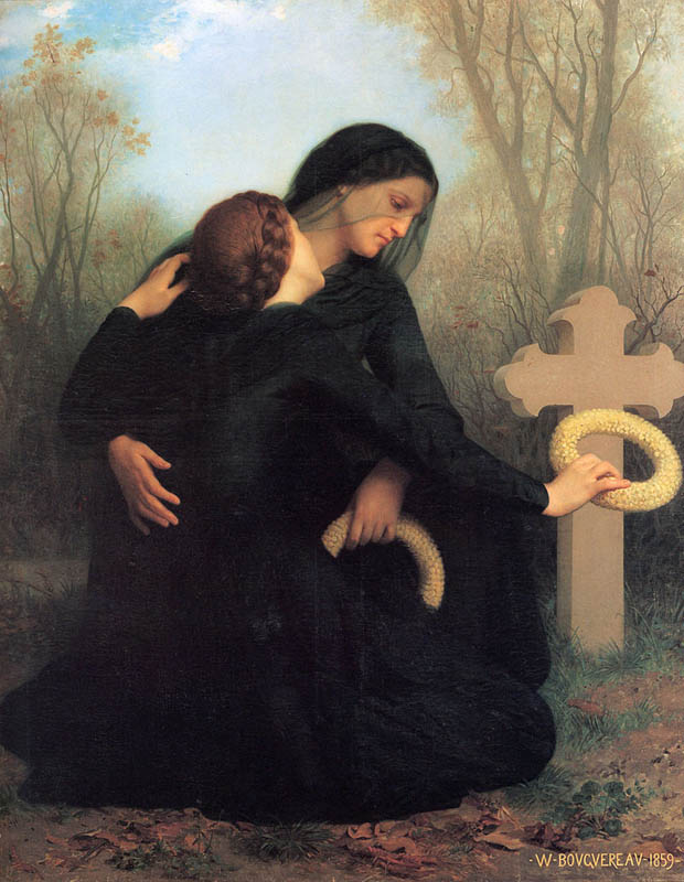 William-Adolphe_Bouguereau_The_Day_of_the_Dead_(1859)
